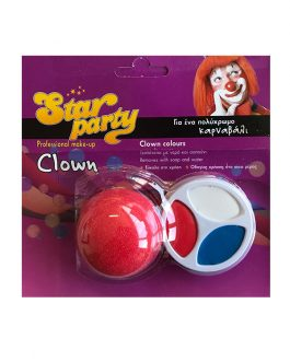 Star Party Professional Make Up Clown