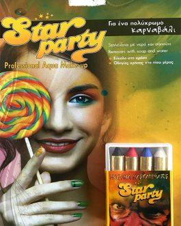 Star Party Professional Aqua Make-up