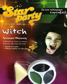 Star Party Professional Make Up Witch